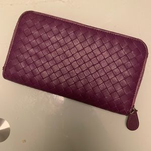 Bottega Veneta wallet zip around